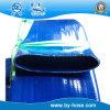 Tuyau enduit en plastique de décharge étendu 2 par pouces de l'eau plate de Bayu