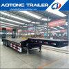 China 3 Aanhangwagen/Aanhangwagens van de Vrachtwagen van het Bed van de As de de Lage voor Verkoop