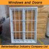 Fenster des Flügelfenster-UPVC mit Einbrecher-Ineinander greifen