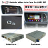 Interfaz video de la navegación androide del sistema GPS de los multimedia HD de la mejora del coche para Q5 el soporte DVD/TV/Mirrorlink