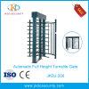 Cancello girevole pieno di altezza del sistema di controllo di accesso della singola Manica del acciaio al carbonio