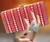 Sacco di sera pieno di lusso del diamante della nuova borsa del progettista 2015 (XW797)