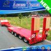De verlengbare Flatbed Aanhangwagen van het Dek van de Lengte Lage voor Verkoop