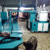 60 Verter de poliuretano de baixa pressão da máquina para a sapata de algumins