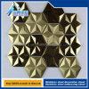 스테인리스는 티타늄 6각형 다이아몬드 손질 위원회를 타일을 붙인다