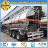 45000L Aanhangwagen van de Tank van de Benzine van de Aanhangwagen van de Tanker van de Legeringen van het aluminium de Semi 40t