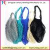 Preiswerte mehrfachverwendbare Baumwollineinander greifen-Erzeugnis-Einkaufstasche-Nettobeutel