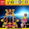 Brinquedo educacional plástico colorido do enigma