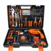 Ferramentas manuais Kit de Ferramenta de Hardware do conjunto de ferramentas furadeira elétrica