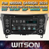De Auto DVD van het Scherm van de Aanraking van de Vensters van Witson voor Nissan Qashqai 2014