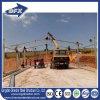 Aves de corral económicas de la estructura de acero de Qingdao que levantan la casa para Argelia