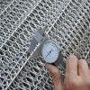 Banda transportadora del acoplamiento de alambre de metal del encadenamiento del acero inoxidable para el horno