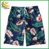La spiaggia su ordinazione di stampa di sublimazione degli uomini mette gli Shorts in cortocircuito della scheda