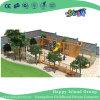 As crianças do parque de diversões no exterior de madeira reproduzir equipamento de ginásio (HJ-14701)