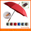 Parapluie publicitaire publicitaire personnalisé avec poignée droite