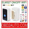 Versie van WiFi van de Lezer van de Code van de Scanner Swith van de Scanner van Mini327 Elm327 de Auto on/off OBD2 OBD2 V2.1