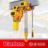 2 tonne faible marge de manoeuvre d'un palan pour le levage à l'espace limité WBH-02002Steadly (SL)