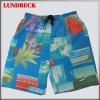 Shorts da praia dos homens do verão com flor