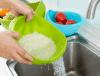 Colander di plastica Rice Bowl e Strainer