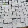 薄い灰色の花こう岩G603の玉石の私道の敷石