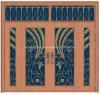 Дверь классицистической средней восточной обеспеченностью рынка внешний стеклянная (W-GB-17)