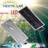 10W Outdoor Luz de Rua LED solar integrada