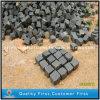 景色/Garden/Yardのための透過性の炎にあてられた灰色の/Blackの玄武岩の舗装するか、またはペーバー