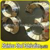 文字の印を広告するレーザーの切口カラー上塗を施してあるステンレス鋼
