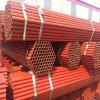 Tubo de acero pintado rojo de ERW para hacer el andamio