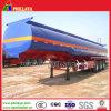 반 3axle 50cbm 40tons 산성 화학 액체 탱크 트레일러