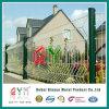 Покрынная PVC сваренная ячеистая сеть ограждая домашнюю разделительную стену сада
