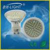 Verre DEL Spot Light 3.5W SMD3528 60d GU10 Warm White 310lumens