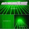 16 Licht van het Stadium van het Gordijn van de Laser van de Staaf van de lens het Groene Netto