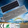 Réverbère solaire extérieur vert de détecteur de mouvement de l'énergie 70W DEL