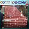 Зерно кирпича Pre-Painted стальной строительный материал катушки от Китая