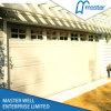 Prix résidentiels isolés électriques automatiques de panneaux de portes de garage de sandwich sectionnel aérien avec télécommandé et CE approuvé
