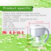 Negative Ionenkeramische Kugel-alkalischer Wasser-Krug Shenzhen-Wellblue mit pH (8.0-10.5)