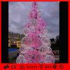 분홍색과 White Outdoor Decoration Light Motif Ball Tree