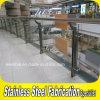 Cubierta de la escalera Balcón Baranda de acero inoxidable para el centro comercial