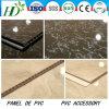 7.5*250mm Breite Heiß-Stempelndes Belüftung-Panel Belüftung-Decke Belüftung-Wand-wasserdichtes materielles Dekor-Panel