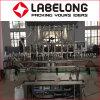 Llenado automático de la botella de aceite comestible de la máquina de etiquetado de limitación de la línea de producción