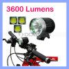 Wasserdichte CREE Xml T6 LED 3600 Fahrrad-Schleife-Leuchte der Lumen-LED