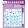 El repujado y piercing Pergamino Kit para hacer tarjetas artesanales (PS117)