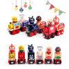 Los niños regalo de Navidad de madera Thomas vagón de tren bloques juguetes educativos