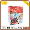 Bolso de compras del papel revestido del feliz cumpleaños
