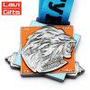 Персонализированное оптовой продажей проштемпелеванное конструкцией медаль металла 3D