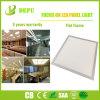 Blanco/Plata Archivo de imagen Flat Panel LED Luz Buen Material con alta eficiencia 40W 100lm/W con EMC+LVD