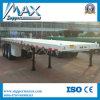 3 neuer flaches Bett-LKW-Flachbettbehälter-halb Schlussteil der Wellen-40FT für Verkauf