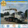 Dongfeng 6X6 fuori dal camion della strada ha montato con la gru pieghevole di XCMG
