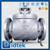 Didtek 16 clase300 Wcb de muñón de entrada superior de la válvula de bola